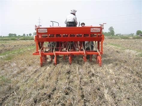 seed drill wheat गेहूँ खेती की समग्र सिफारिशे wheat package practices in Hindi